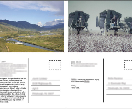 Email PostcardsDesign & Field Study